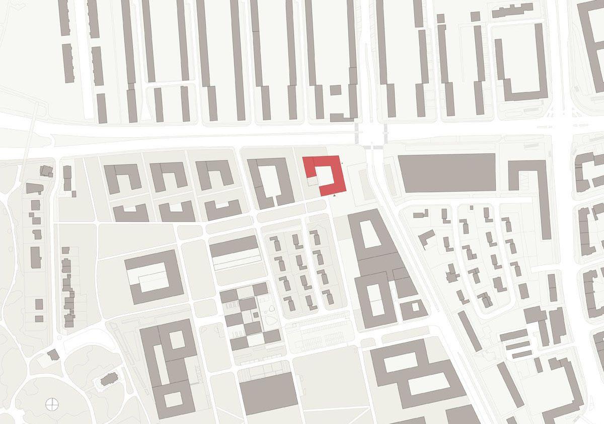 Herbert Hussmann Architekten Deutsches Institut für Internationale Pädagogische Forschung DIPF Lageplan