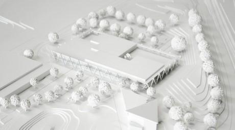 Herbert Hussmann Architekten Gemeinschaftsschule Gäufelden Modell