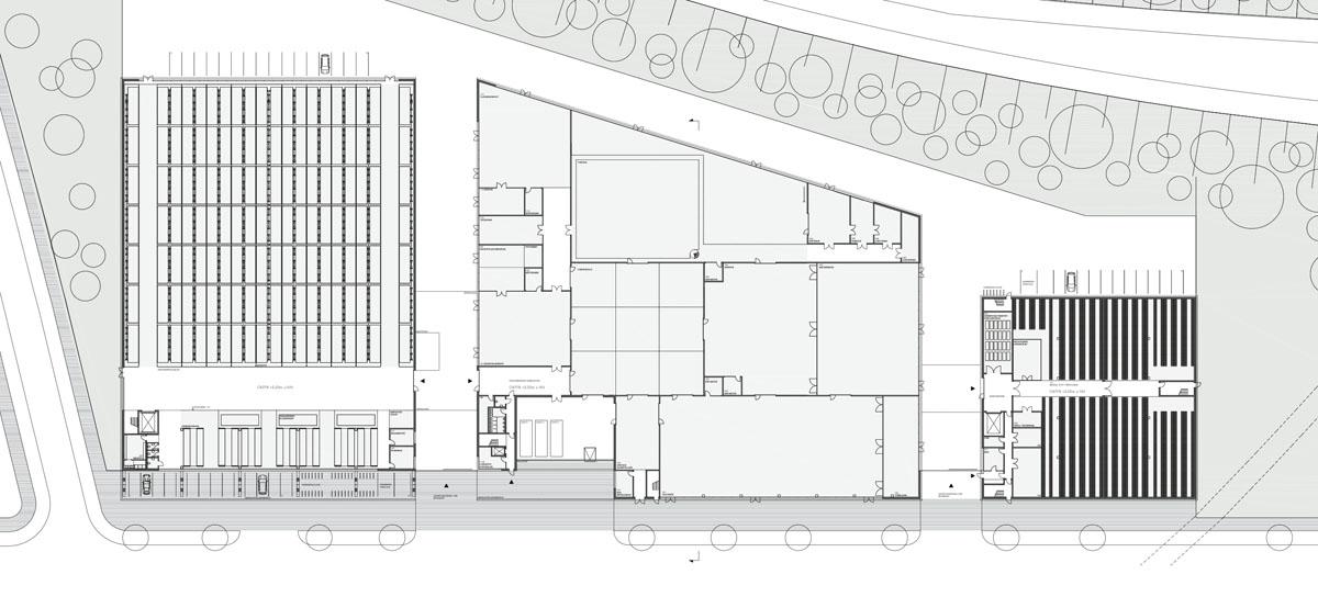 Herbert Hussmann Architekten Opernfundus Hamburg Grundriss