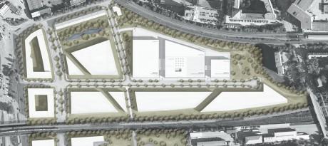 Herbert Hussmann Architekten Opernfundus Hamburg Lageplan