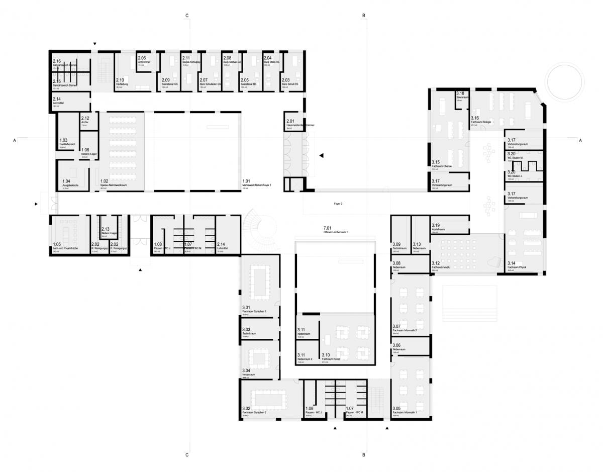 Herbert Hussmann Architekten Schule Löcknitz