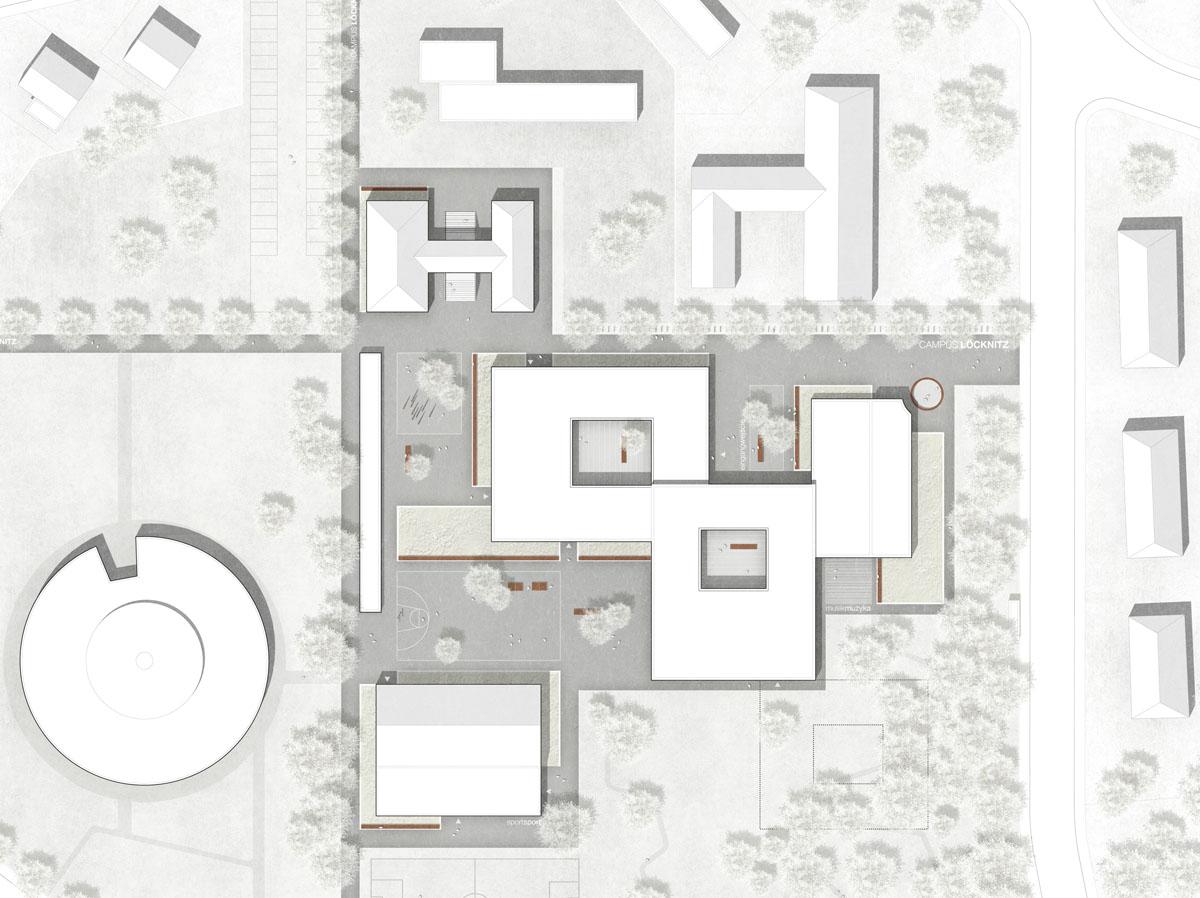 Herbert Hussmann Architekten Schule Löcknitz Planorama