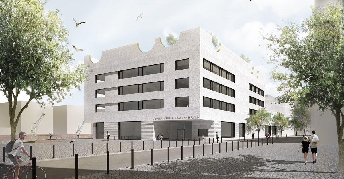 Herbert Hussmann Architekten Grundschule Baakenhafen Hamburg Schule