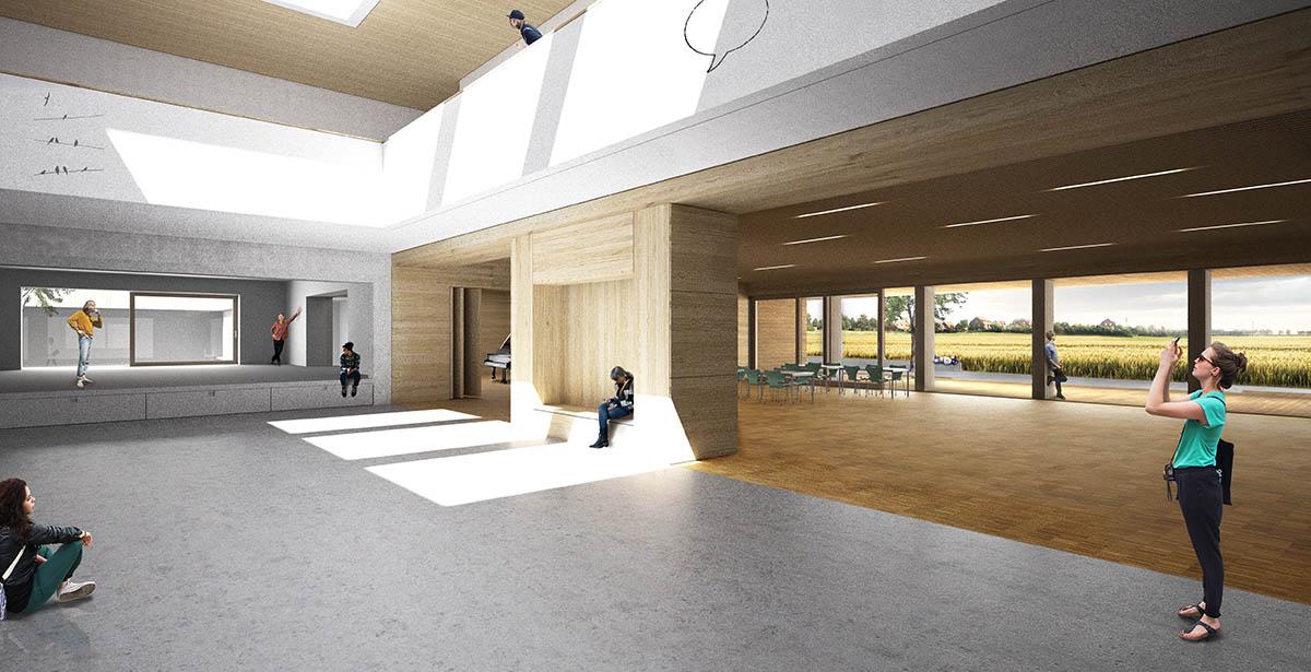 Herbert Hussmann Architekten Bildungscampus Zarrentin am Schaalesee