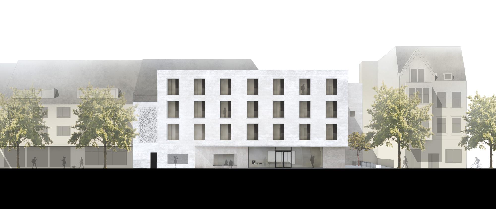 Herbert Hussmann Architekten Stadtteilzentrum Hamm Weststadt