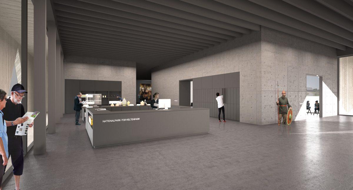 Herbert Hussmann Architekten Keltenpark Besucherzentrum